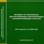 СТО Газпром 2-2.3-289-2009