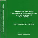 СТО Газпром 2-4.1-228-2008