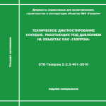 СТО Газпром 2-2.3-491-2010